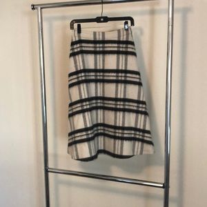 Alive and Olivia wool midi skirt